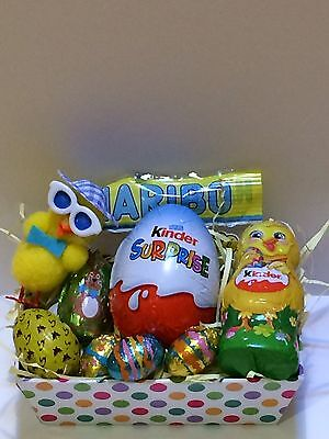 KINDER EGG GIFT BOX  EASTER HAMPER MINI EASTER EGG chocolates