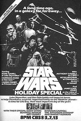 Vintage Star Wars Movie Posters: Star Wars (Holiday Special)