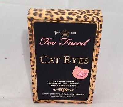 Too Faced Cat Eyes Eye Shadow And Liner Collection Bnib