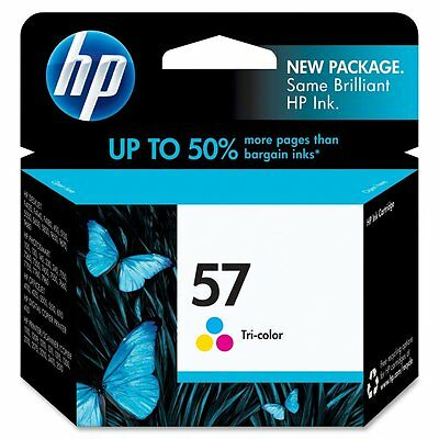 GENUINE NEW HP 57 (C6657AN) Ink Cartridge