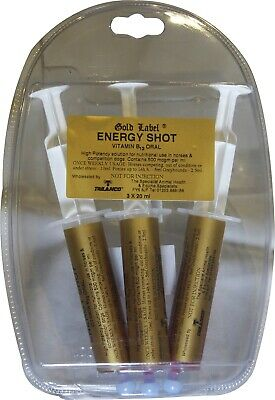 Gold Label Energy Shot Horse highly concentrated ready to use vitamin B12 metabo
