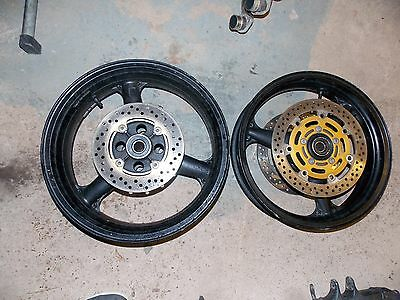 KAWASAKI Zx6r B1h Wheels with discs 2003 2004 - track race road