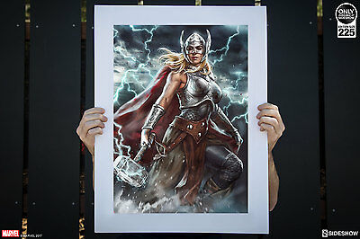 Thor: Jane Foster Premium Art Print by Sideshow Collectibles