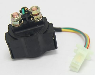 Signswise Starter Relay SOLENOID for 4-stroke GY6 Engine 50cc 70 cc 90cc 110 ...