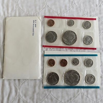 USA 1974 13 COIN MINT YEAR SETS WITH DOLLARS  - sealed packs