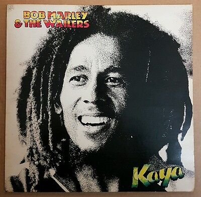 "Bob Marley & The Wailers ‎– Kaya - 12"" UK LP (1978)"
