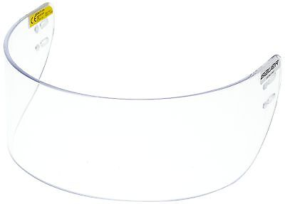 Bauer Euro Pro 1039933 Visor for Ice Hockey Helmet Straight Clear One Size