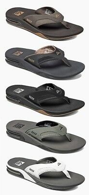 Reef Fanning Men's Flip Flops Bottle Opener Sandals Sizes 8 9 10 11 12 13 14