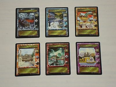 Emerald Edition 6x Promo Mon Back Stronghold Set - L5R Legend of the Five Rings