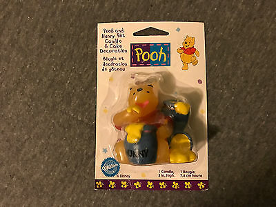 Brand New Wilton Winnie The Pooh Hunny Honey Pot Candle & Cake Decoration!