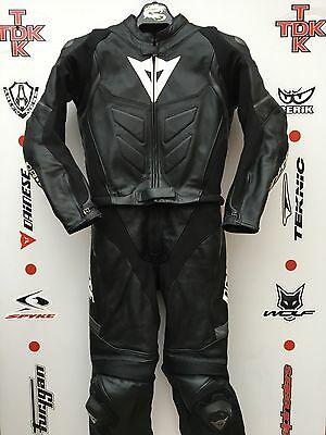 Dainese Avro d2 2 piece race suit with hump uk 46 euro 56