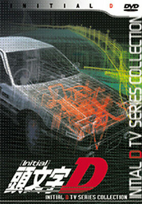 Initial D TV Series Collection No4(DVD, 3-Disc) Japanese w/ English, Chinese Sub