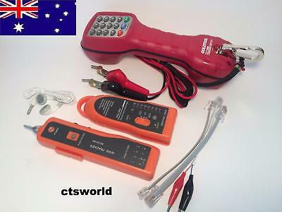 ISGM,TELSTRA  LINEMAN Test Set BUTT Phone & Wire Tracker Tracer RJ45 RJ11 finder