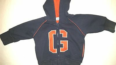 Baby Gap Boys Zip Up Hoodie Size 3-6 Months