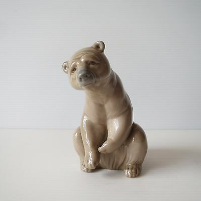Genuine Lladro Brown Bear, Lladro Brand, Collectible Spanish Figure, 1205