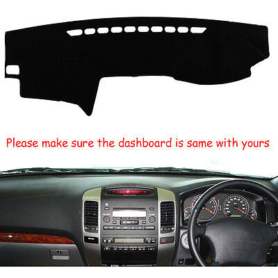 For Toyota Prado 2002-2009 Dashmat Dashboard Mat Dash Cover Right Hand Mat FLY5D