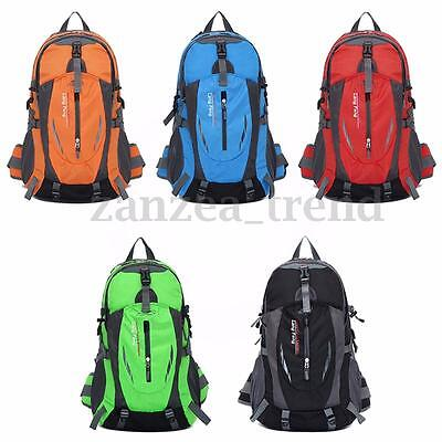 UK 35L Waterproof Travel Camping Sport Hiking Daypack Rucksack Outdoor Backpack
