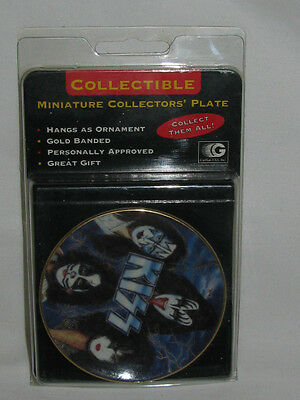 1997 KISS  ROCKERS & RULERS Miniature Collector's Plate by Gartlan