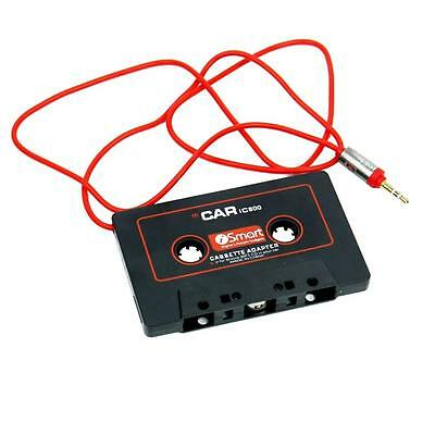 Audio Cassette Tape Adapter Aux Cable Cord 3.5mm Jack for to MP3 iPod CD Player