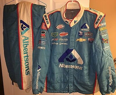 2XL 38W x 35L RCR CHEVY RACING Nascar Pit Crew Firesuit SFI SPARCO ALBERTSONS