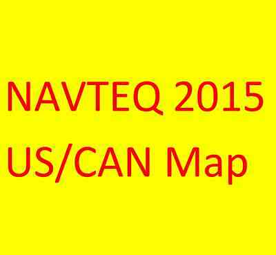 NAVTEQ 2015 US/CAN MAP - Pioneer AVIC-Z110BT, Z120BT, X920BT FW v6.0 iPhone 6s