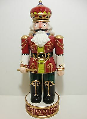 Fitz & Floyd Holiday Nutcracker Red
