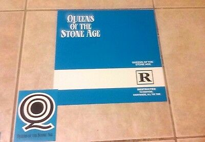 Queens of Stone Age R Restricted poster flat stoner rock Grohl Homme Kyuss decal