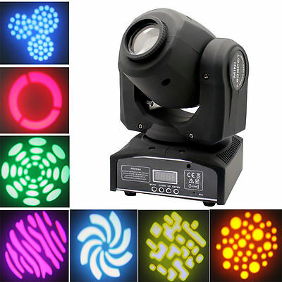 60W RGBW LED Moving Head Light New DMX512 Stage Party DJ Wash Beam Lighting 7/10