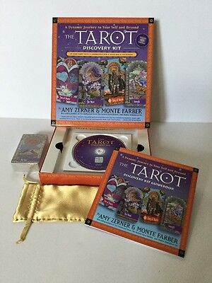 Tarot Card Kit : How to ( Discovery Kit ) by Amy Zerner and Monte Farber