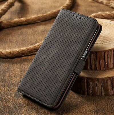 Luxury Genuine Real Leather Flip Case Wallet Stand Cover For Sony Xperia Model