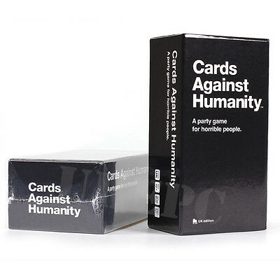 Cards Against Humanity UK version Party Game Original New Fun Game