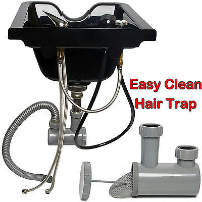 Healthline Plastic Shampoo Bowl Sink Barber Shop Beauty Salon Equipment 04