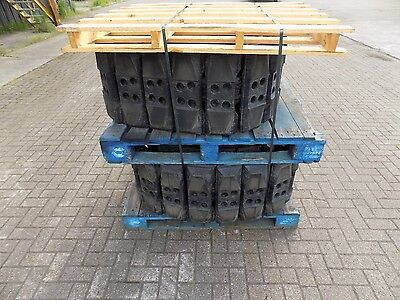 Set Of Bridgestone Road Liner Tracks 40 Sections To Suit Case / Hitachi / Jcb