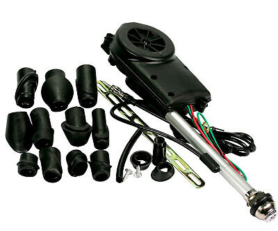 Multi Head UNIVERSAL FIT CAR ELECTRIC AERIAL ANTENNA WING POWER BOOSTER KIT