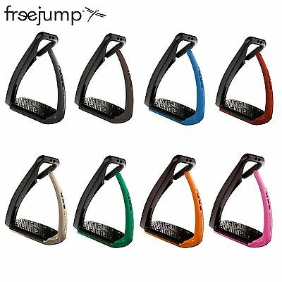 Freejump Stirrups *Soft Up Pro* & *light*  inc a Free pair of ANIMO socks