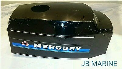 Mercury 4hp Gnat Cowl Cover Cowling Hood Top Lid  Outboard Used Parts 1976-1980