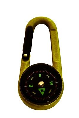 3 in 1 Compass, Thermometer, Carabiner Clip