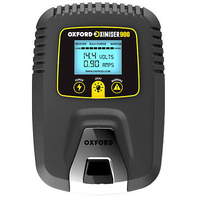 Oxford Oximiser 900 2015 Motorcycle Battery Charger Trickle Charger RRP £49.99