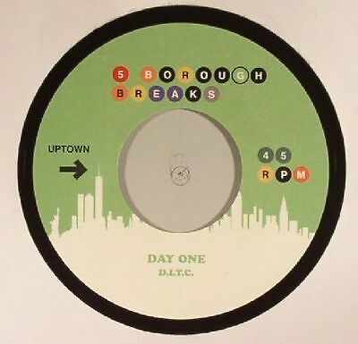 """DIGGIN IN THE CRATES/OLIVER SAIN - Day One - Vinyl (7"""" limited to 300 copies)"""
