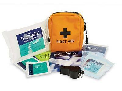 Small Hi Vis First Aid Kit for Outdoors Scouts Camping Forestry Aborist