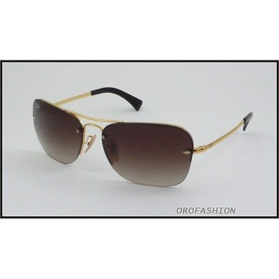 e2edbaa66e SUNGLASSES RAY-BAN RB3541 001 13 61 Gold Brown Gradient -  103.40 ...