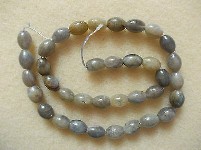 strand of labradorite drums approx 10mm x 8mm