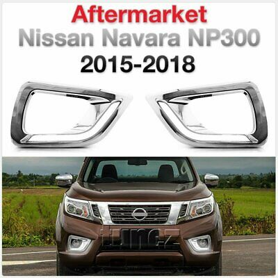 LED Daytime Running Light DRL Fog Lamp For Nissan Navara 2015-2019 NP300 D23 2G