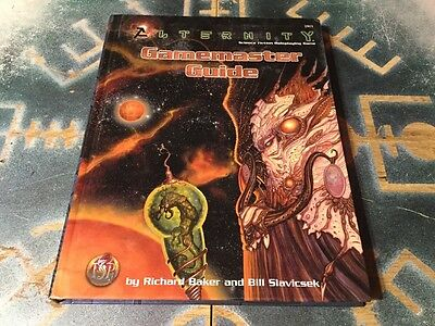 Alternity Gamemaster Guide ~ Science Fiction Roleplaying Game  ~ TSR 2801 (1998)