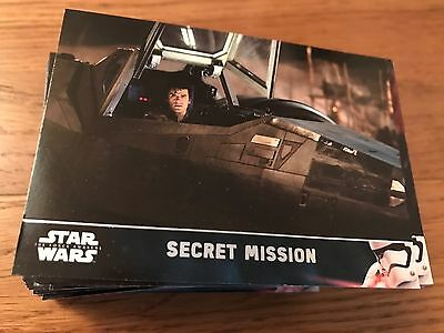 2016 Star Wars The Force Awakens Series 2 Complete Base Set 100 Card
