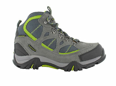 Hi Tec Boy's Renegade Trail Junior (Graphite/Dark Grey/Green)