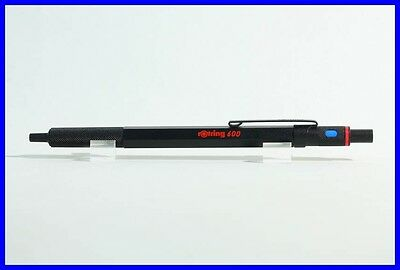 Rotring 600 first series ball point pen black with red print - knurrled grip 80'