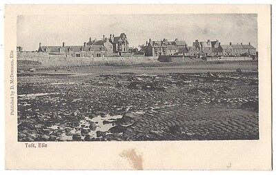 FIFE The Toft, Elie, Old Postcard by George Washington Wilson, Unused
