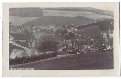 STOW View from Crunzion, RP Postcard Unused