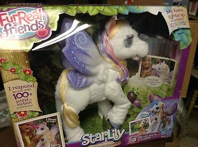 FurReal Friends My Magical Unicorn StarLily Interactive Star Lily - BNIB